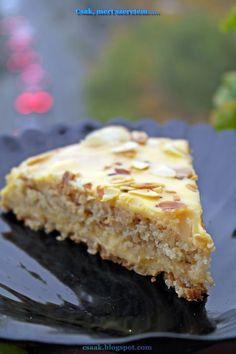 svéd mandulatorta, az IKEA-s csoda süti Gf Recipes, Cake Recipes, Cooking Recipes, Salty Snacks, Hungarian Recipes, Paleo Dessert, Cakes And More, No Cook Meals, Fudge