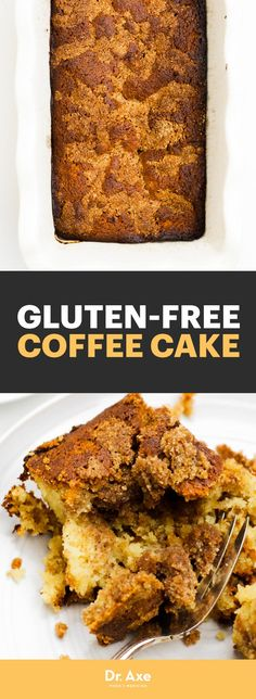 Next time you're serving up some piping hot coffee, consider making this gluten-free coffee cake.