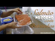 Salmão no Forno com Batatinhas • www.luisaalexandra.com