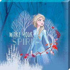 Wake Your Spirit Elsa, Frozen 2 Canvas - Buy Online Frozen Disney, Elsa Frozen, Elsa 2, Disney Princess Quotes, Disney Nerd, Disney Fun, Frozen 2 Wallpaper, Disney Wallpaper, Frozen Drawings