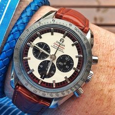 Mens Luxury Watches Ceramic Bezel Sapphire Glass Luminous Quartz Silver Gold Two Tone Stainless Steel Watch (Gold Blue) – Fine Jewelry & Collectibles Mens Designer Watches, Luxury Watches For Men, Omega Speedmaster, Sport Watches, Cool Watches, Men's Watches, Analog Watches, Dream Watches, Omega Railmaster