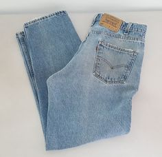 Vintage Levis 550 Jeans 34x30 Orange Tab 100% Cotton 90's Distressed Made In USA | Clothing, Shoes & Accessories, Men's Clothing, Jeans | eBay!