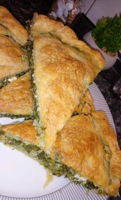 Lamb Recipes, Greek Recipes, New Recipes, Avocado Egg Rolls, Cheese Pies, Yams, Spanakopita, Food And Drink, Cooking