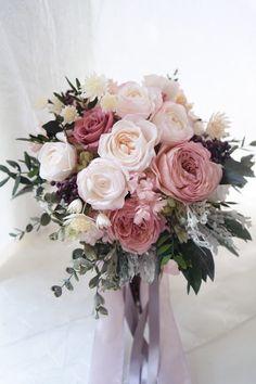 Bride Bouquets, Flower Bouquet Wedding, Rose Wedding, Floral Wedding, Dream Wedding, Wedding Themes, Wedding Decorations, Hand Bouquet, Wedding Wishes