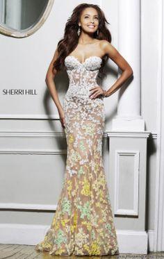 Yellow Prom Dress 2014