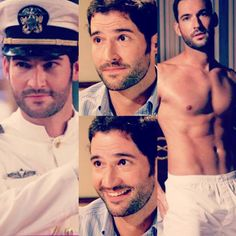 """the steaming pile of hunk that is @officialtomellis (aka gary from miranda on bbc)  you are welcome if that doesn't wake up your feramones I dunno what…"""