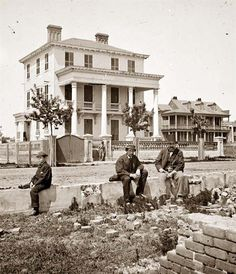 Charleston, South Carolina. I love this picture so much - History speaks volumes.
