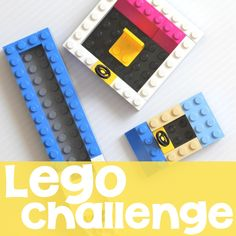Join in the Lego Challenge! Pick a challenge, build something from your dreams, and share the pictures online.