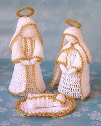Crochet christmas nativity holidays 39 trendy Ideas Crochet christmas nativity holidays 39 trendy Ideas Always wanted to discover ways to knit, but unsure the plac. Crochet Angels, Crochet Stars, Crochet Snowflakes, Thread Crochet, Diy Crochet, Crochet Crafts, Crochet Dolls, Crochet Flowers, Crochet Projects