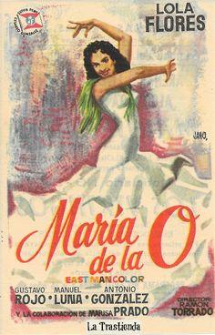 Programa de Cine - María de la O