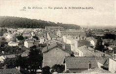 Vue générale de Saint-Trojan-les-Bains, Île d'Oléron.