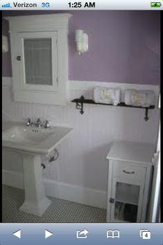 Lavender Bathroom Purple Bathrooms Vintage 1920s Colors