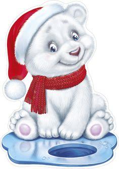 Wooden Christmas Decorations, Christmas Yard Art, Christmas Drawing, Christmas Paintings, Christmas Dog, Teddy Bear Cartoon, Baby Cartoon, Cute Cartoon, Christmas Graphics