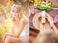 Beach Bohemian Wedding Inspiration