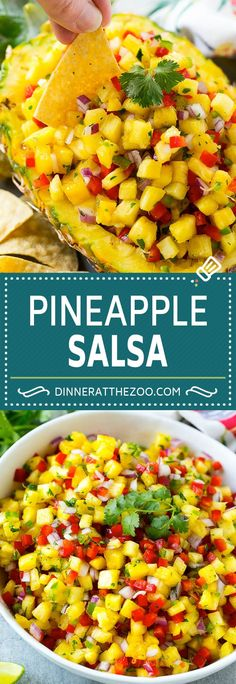 21 ideas for fruit salsa recipe cooking Healthy Recipes, Fruit Recipes, Summer Recipes, Mexican Food Recipes, Appetizer Recipes, Healthy Snacks, Cooking Recipes, Pineapple Salsa Recipes, Best Fruit Salsa Recipe