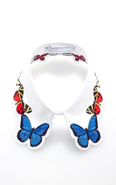 Fauna Embroidered Collar by Vivetta - Moda Operandi <3