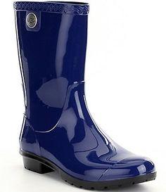 UGG® Sienna Rubber Glossed Waterproof Rain Boots
