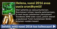 Selvitä, mitä vuosi 2016 tuo tullessaan!