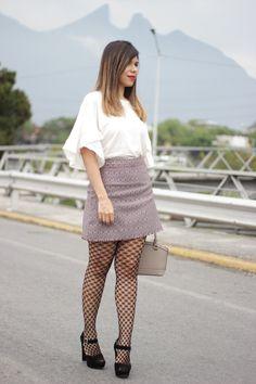Fishnet tights trend ariafashionhouse.com - Fashionmylegs : The tights and hosiery blog