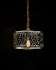 luminosity lighting milwaukee. the steel grate pendant light - industrial rope lighting swag ceiling lamp accent hanging fixture rustic edison bulb statement luminosity milwaukee v