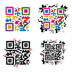 great examples of QR codes as artwork!