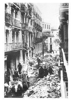 Spain - 1937. - GC - 7 de abril 1937 - Madrid bombardeada por los aviones nazifascistas