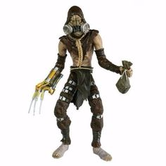 scarecrow batman arkham asylum dc collectibles action figure