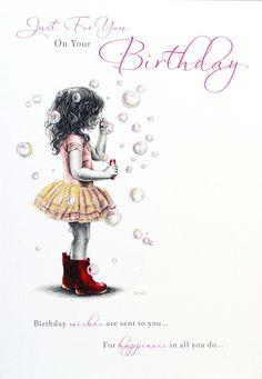 Rosebud - Birthday   Henderson Greetings - henderson greetings, greeting, card, birthday, gift, wrap, party, partyware