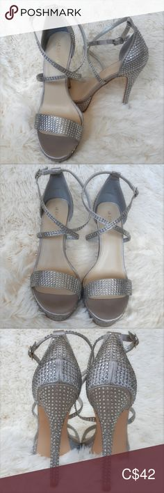 I just added this listing on Poshmark: Le Chateau Jewel Embellished Satin Platform Sandal. Platform Stilettos, Stiletto Heels, Shoes Heels, Shoes Sneakers, High Heels, Pumps, Comfortable Fashion, Comfortable Shoes, Reebok