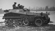 A SdKfz 253 light halftrack operating during the invasion of Poland in 1939