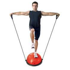Tapout – Ballon d'exercices avec bande élastique