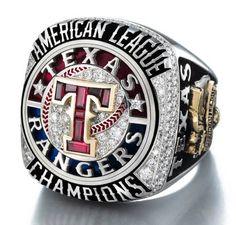 Texas Rangers Championship Ring