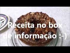 RECEITA: Bolo de banana aveia e castanhas FUNCIONAL. - YouTube