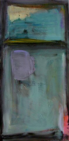 Original abstract art painting blues lavender by cherylwasilowart, $75.00