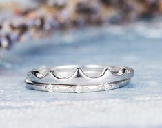 HANDMADE RINGS & BRIDAL SETS by MoissaniteRings on Etsy Bridal Ring Sets, Handmade Rings, Silver Rings, Engagement Rings, Diamond, Etsy, Jewelry, Fashion, Enagement Rings