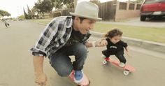 Penny Skateboards + Hosoi Hoping this is me and my kid one day :)