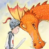 'Dragon Face-off' Fine Art Giclee Print, signed. This just arrived for Sam's bedroom. Dragon Face, Dragons, Son Luna, Outdoor Art, Animal Design, Fantasy Creatures, Art Quotes, Giclee Print, Illustration Art