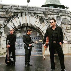 Walking Phoenixes infront of Folsom Prison Gate