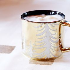 Tree Stacking Mug - Metallic Gold, 14 fl oz | Starbucks® Store