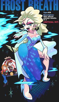 Elsa's Frost Breath by Gashi-gashi.deviantart.com on @deviantART