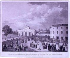 Plaza de Toros de la Puerta de Alcalá en torno al 1867