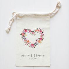 The Wedding Chicks Shop  - Blushing Hearts Wedding Favor Bags, $6.00 (http://shop.weddingchicks.com/blushing-hearts-wedding-favor-bags/)