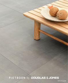 Piet Boon Outdoor by D&J Concrete Rock cm Concrete Tiles, Outdoor, Table, Furniture, Home Decor, Living Room Ideas, Concrete Roof Tiles, Outdoors, Decoration Home