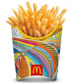 Check out all 12 new McDonald's French Fry Packaging for the World Cup.