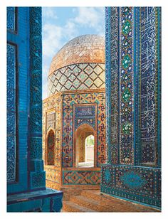 Samarkand is the Silk Road gem of Uzbekistan with so much to offer. Here are the top things to do in this city, including where to eat and where to stay! Nature Architecture, Islamic Architecture, Architecture Design, Building Architecture, Romantic Destinations, Travel Destinations, Amazing Destinations, Places To Travel, Places To Visit