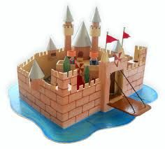 how to make a cardboard castle for kids - Google Search