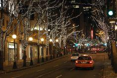 5th Avenue in December, Seattle, WA