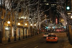 5th Avenue in December, Seattle, WA
