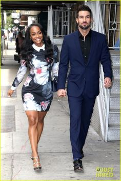Rachel Lindsay & Bryan Abasolo ❤ Beautiful interhue couple