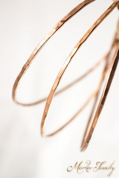 The Hammered Bangle: Simple hammered copper bangle bracelet- copper jewelry.